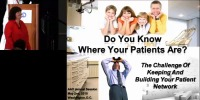 2010 Annual Session - Do You Know Where Your Patients Are? icon
