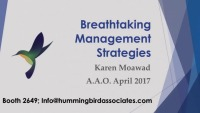 2017 AAO Annual Session - Breathtaking Management Strategies