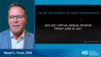 AAO 2021 Annual Conference - The Art and Science of Laser Orthodontics icon