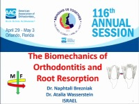 2016 Annual Session - The Biomechanics of Orthodontitis and Root Resorption