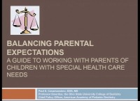 2018 AAO Winter Conf - Balancing Parental Expectations