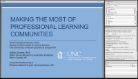 Making the Most of Professional Learning Communities