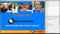 PBS LearningMedia™ Launches Blended Literacy Lessons