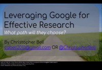 Google and Paperpile as the Basis for Effective Research