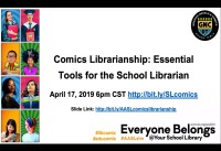 Comics Librarianship: Essential Tools for the School Librarian