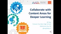 Collaborate with Content Areas for Deeper Learning