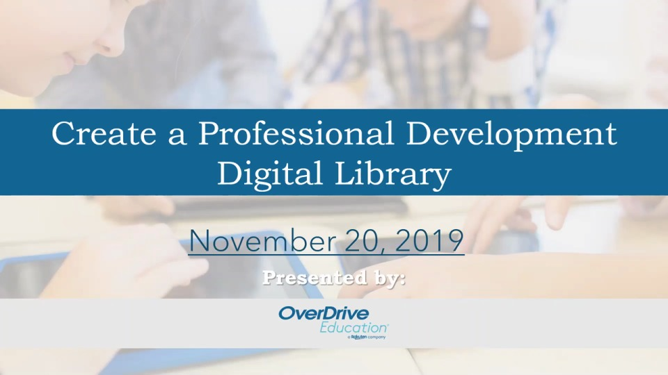 Create a Professional Development Digital Library