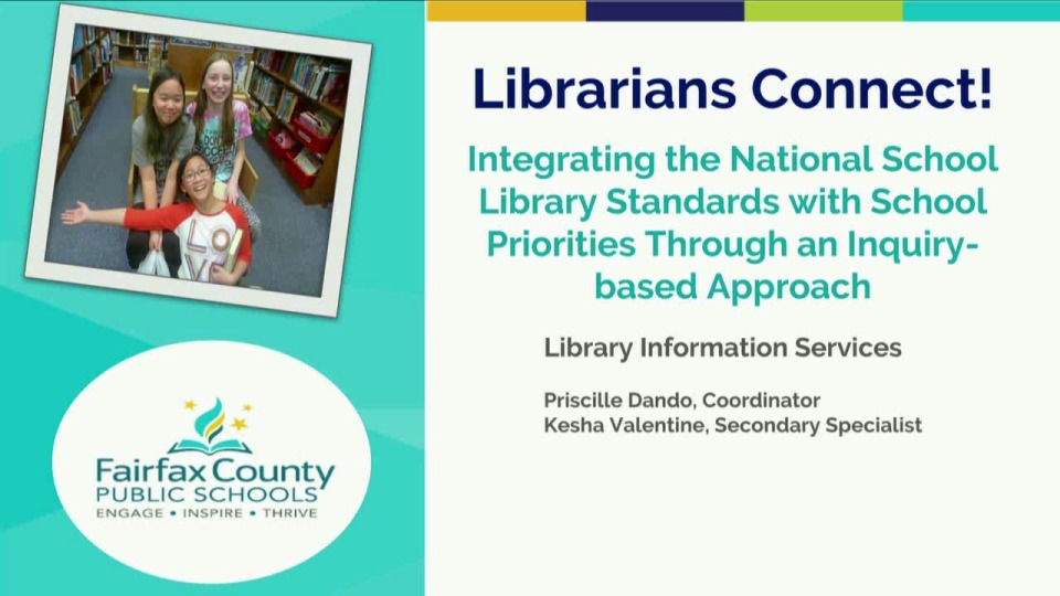 Librarians Connect! Integrating the National School Library Standards with School Priorities through an Inquiry-based Approach