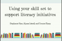 Yes, You Teach Reading, Too!: Using Your Skillset to Support Literacy Initiatives