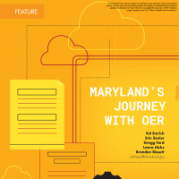 Maryland's Journey with OER (Volume 48, No. 2, 36-41)