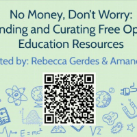 No Money, Don't Worry: Finding and Curating Free Open Education Resources