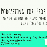 Podcasting for People in a Hurry: Amplify Student Voice and Promote Your Library Program Using Tools You Already Have