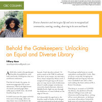 CBC Column: Behold the Gatekeepers (Volume 48, No.3, pgs 62-64)