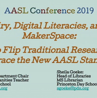 Inquiry, Digital Literacies, and the Makerspace: How to Flip Traditional Research to Embrace the New AASL Standards