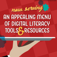 Now Serving…an Appealing Menu of Digital Literacy Tools and Resources (Volume 47, No. 5, pgs 16-21)