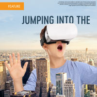 Jumping into the World of Virtual and Augmented Reality (Volume 47, No. 4, pgs 22-27)