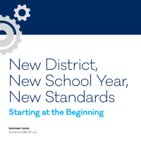 New District, New School Year, New Standards (Volume 47, No. 3, pgs 48-52)