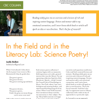 CBC Column: In the Field and in the Literacy Lab (Volume 47, No. 3, pgs 62-64)