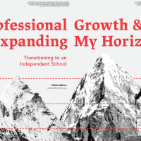 Professional Growth & Expanding My Horizons (Volume 47, No. 2, pgs 40-47)