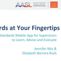 Standards at Your Fingertips: AASL Standards Mobile App for Supervisors to Learn, Advise, and Evaluate