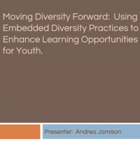 Moving Diversity Forward: Using Embedded Diversity Practices to Enhance Learning Opportunities for Youth