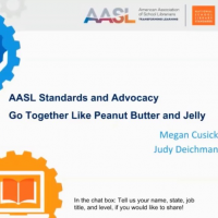 AASL Standards and Advocacy Go Together Like Peanut Butter and Jelly