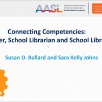 Connecting Competencies: Learner, School Librarian and School Library