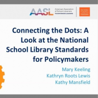 Connecting the Dots: A Look at the National School Library Standards for Policymakers