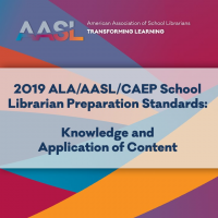 2019 ALA/AASL/CAEP School Librarian Preparation Standards: Knowledge and Application of Content