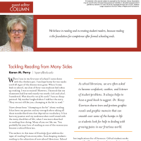 Guest Editor Column: Tackling Reading from Many Sides (Volume 48, No.5, pgs 6-7)