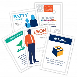 National School Library Standards Card Game