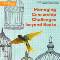 Managing Censorship Challenges Beyond Books  (Volume 49, No.1, pgs 28-33)