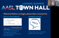 AASL Town Hall | Collaborating for School and Public Library Partnerships