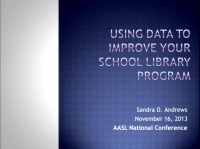 Using Data to Improve Your School Library Program