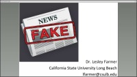 Don't Get Faked Out by the News