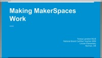 MakerSpaces on a Dime