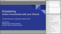 Kick Starting Author Involvement with Your School