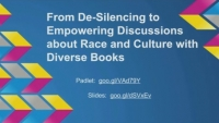 From De-Silencing to Empowering Discussions about Race and Culture with Diverse Books