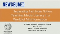 Separating Fact from Fiction: Teaching Media Literacy in a World of Misinformation