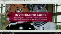 Invisible No More: Meeting the Needs of Autism Spectrum Disorder Students in the School Library