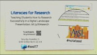 Literacies for Research: Teaching Students How to Research Successfully in a Digital Landscape