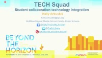 TECH Squad: Student-Led Collaboration Technology Integration