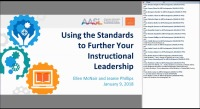 Using the Standards to Further Your Instructional Leadership