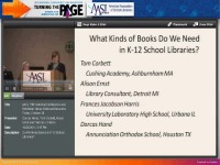 Do We Need Books in K-12 School Libraries?