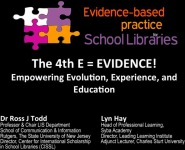The 4th E = EVIDENCE! Empowering Evolution, Experience, and Education