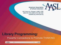 School Library Programming: Powerful Connections to Promote Thinking
