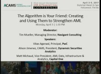 The Algorithm is Your Friend: Creating and Using Them to Strengthen AML