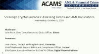 Sovereign Cryptocurrencies: Assessing Trends and AML Implications