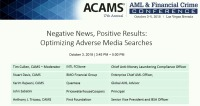 Negative News, Positive Results: Optimizing Adverse Media Searches