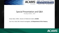 Special Presentation and Q&A